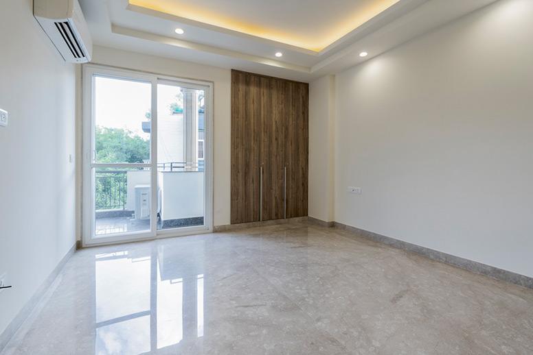 Builder Floor Bedroom Greater Kailash-1