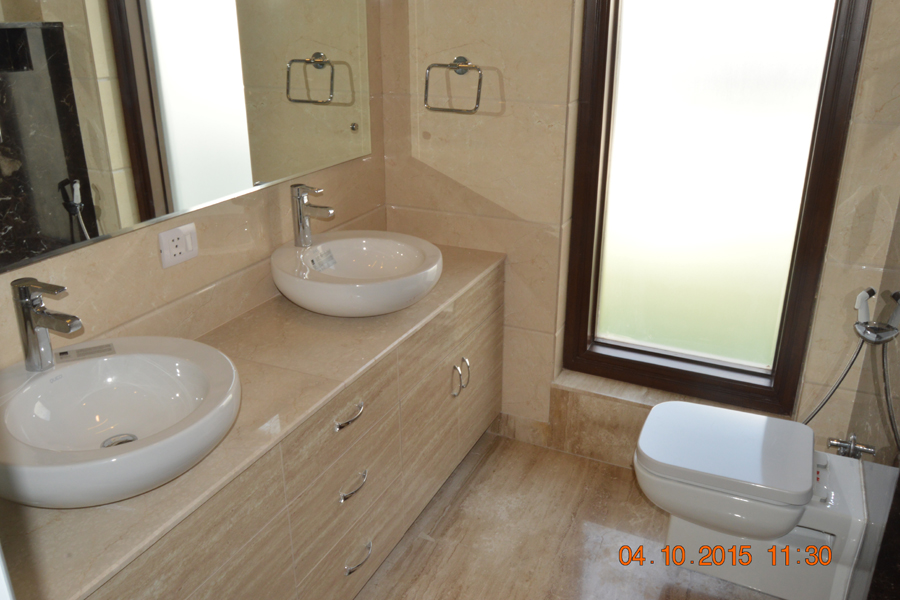 Residential Floor Bathroom Greater Kailash-1