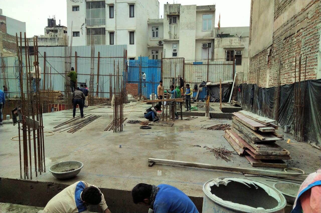 East of Kailash Real Estate Construction Update