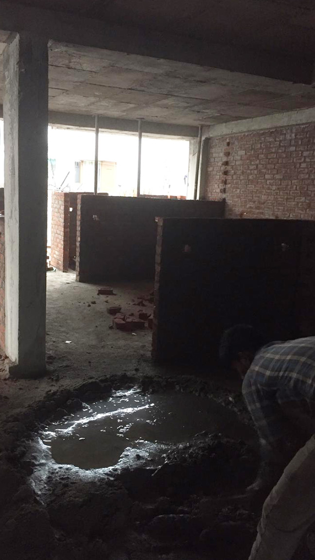 Residential Floor Construction in East of Kailash