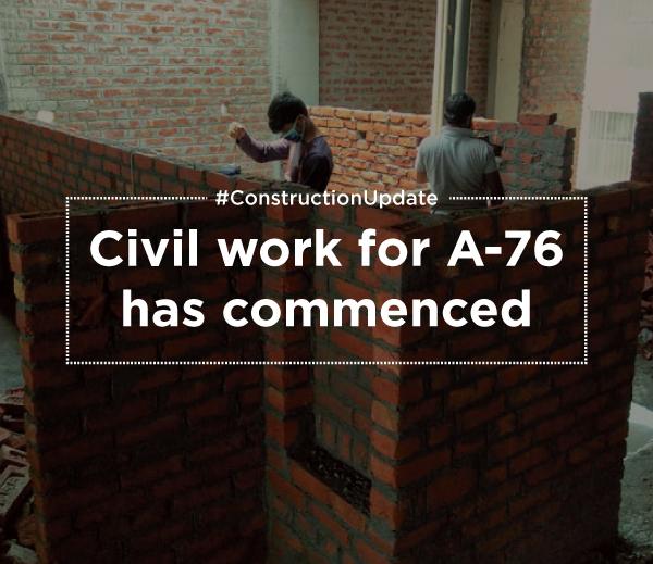 A76 construction update