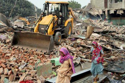 Gurugram Civic Body Demolishes
