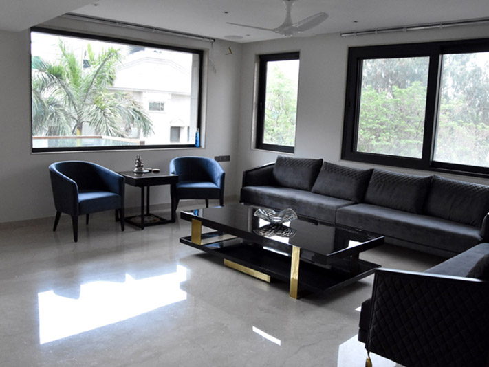 Builder Luxury dwaring room Gk-1