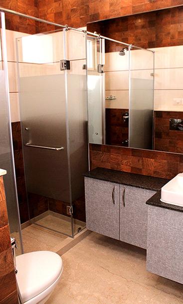 Builder Residential Floor Washroom