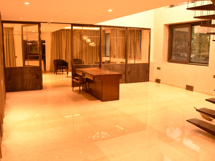 Luxury building Drawing Room