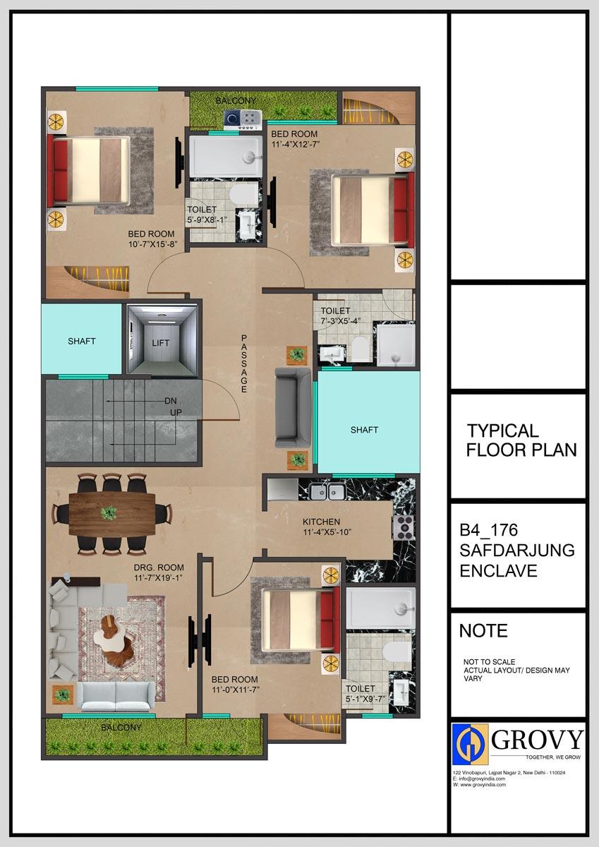 B4-176 Site Plan