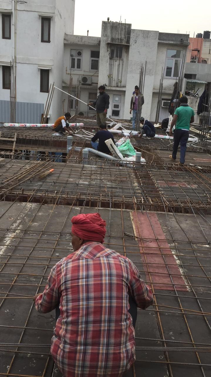 Residential Floor Construction Greater Kailash-2