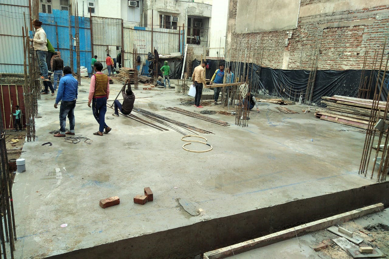 East of Kailash Residential Building Construction