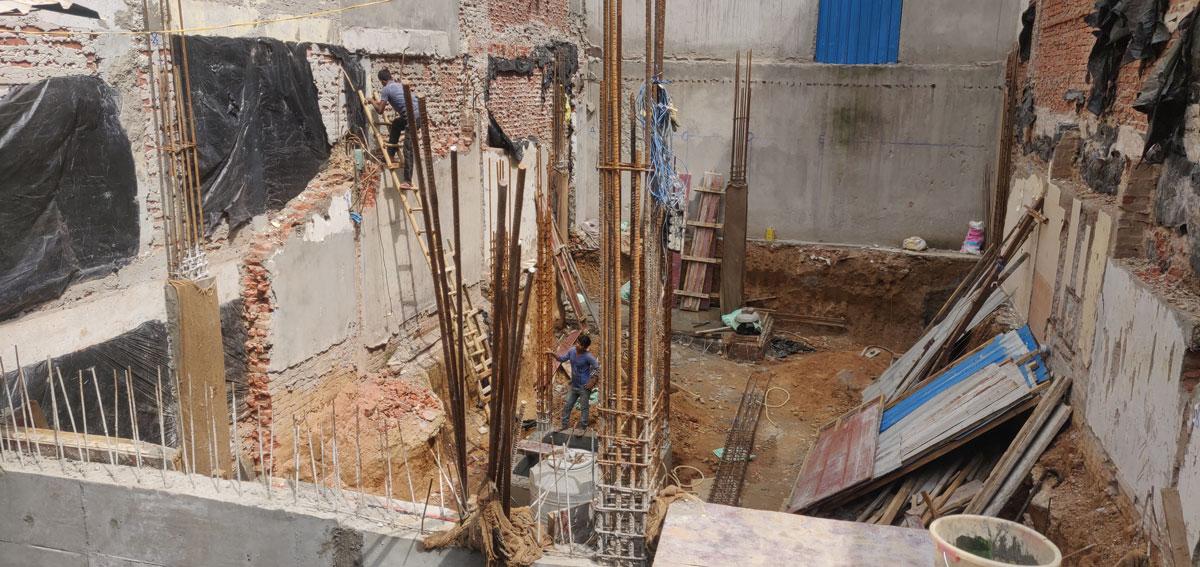 H-32 Construction update