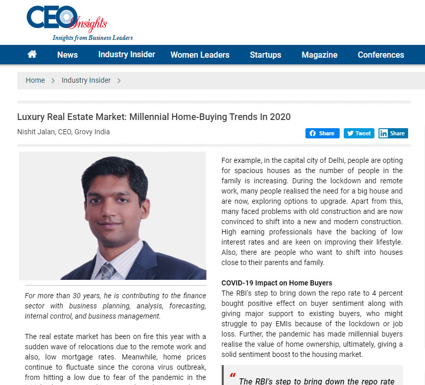Article CEO Insights